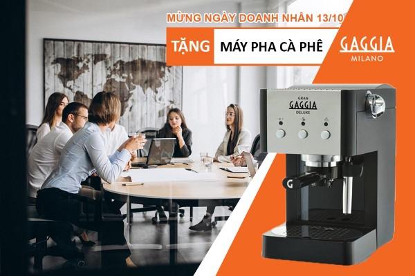Mua cà phê Procaffe – Tặng máy pha cafe Gaggia Gran Deluxe