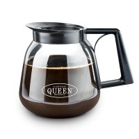Bình đựng cà phê thủy tinh Coffee Queen