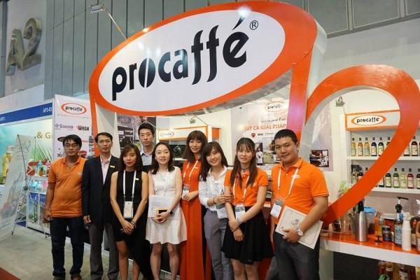 Procaffe tại triễn lãm quốc tế Food & Hotel 2017