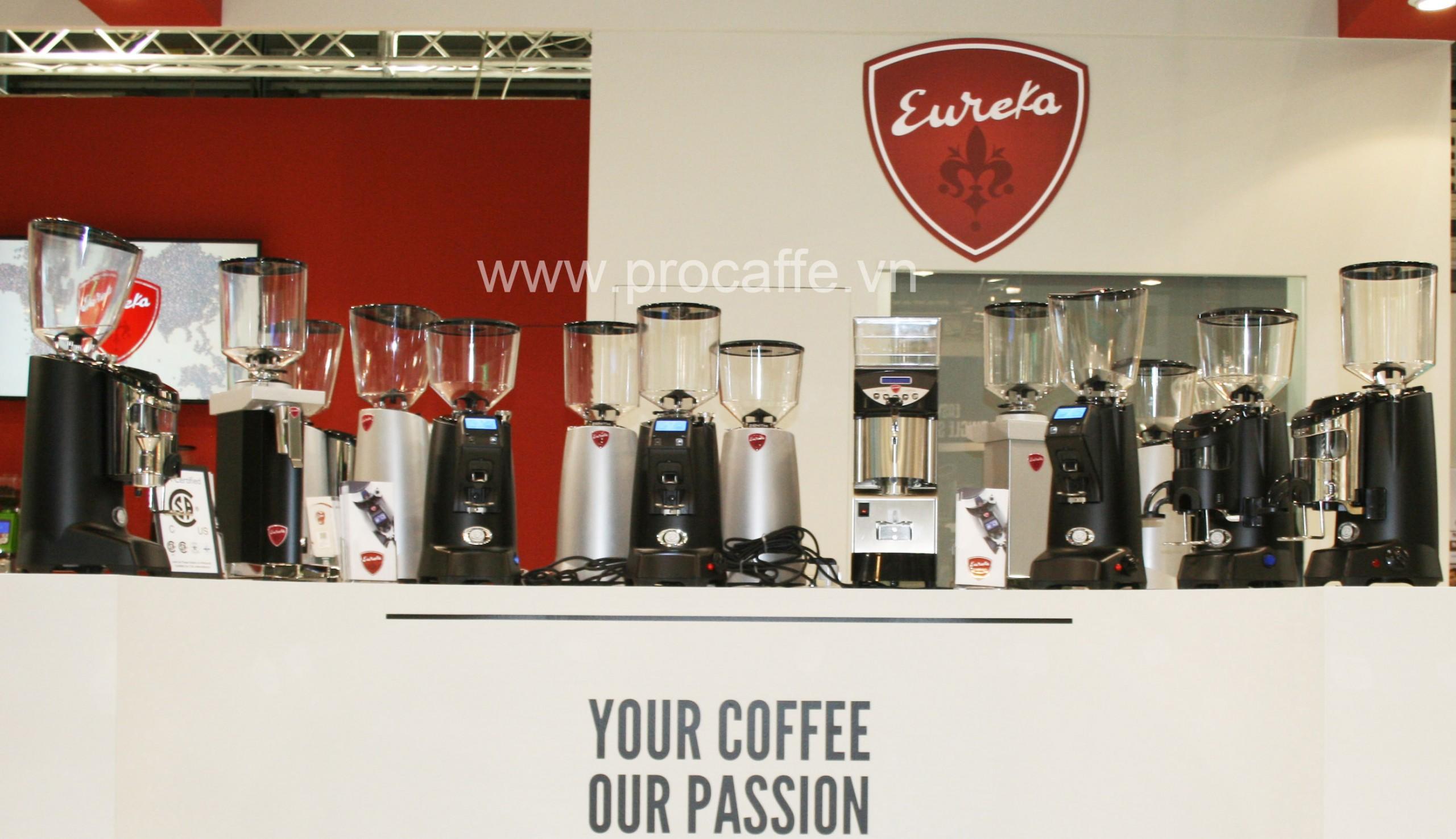 Máy xay cà phê Eureka - Giá tầm trung, chất lượng cao cấp