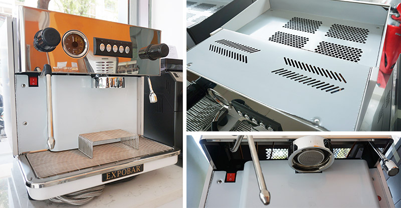 Máy pha cà phê điện tử Expobar Monroc Control 1GR - ảnh 1