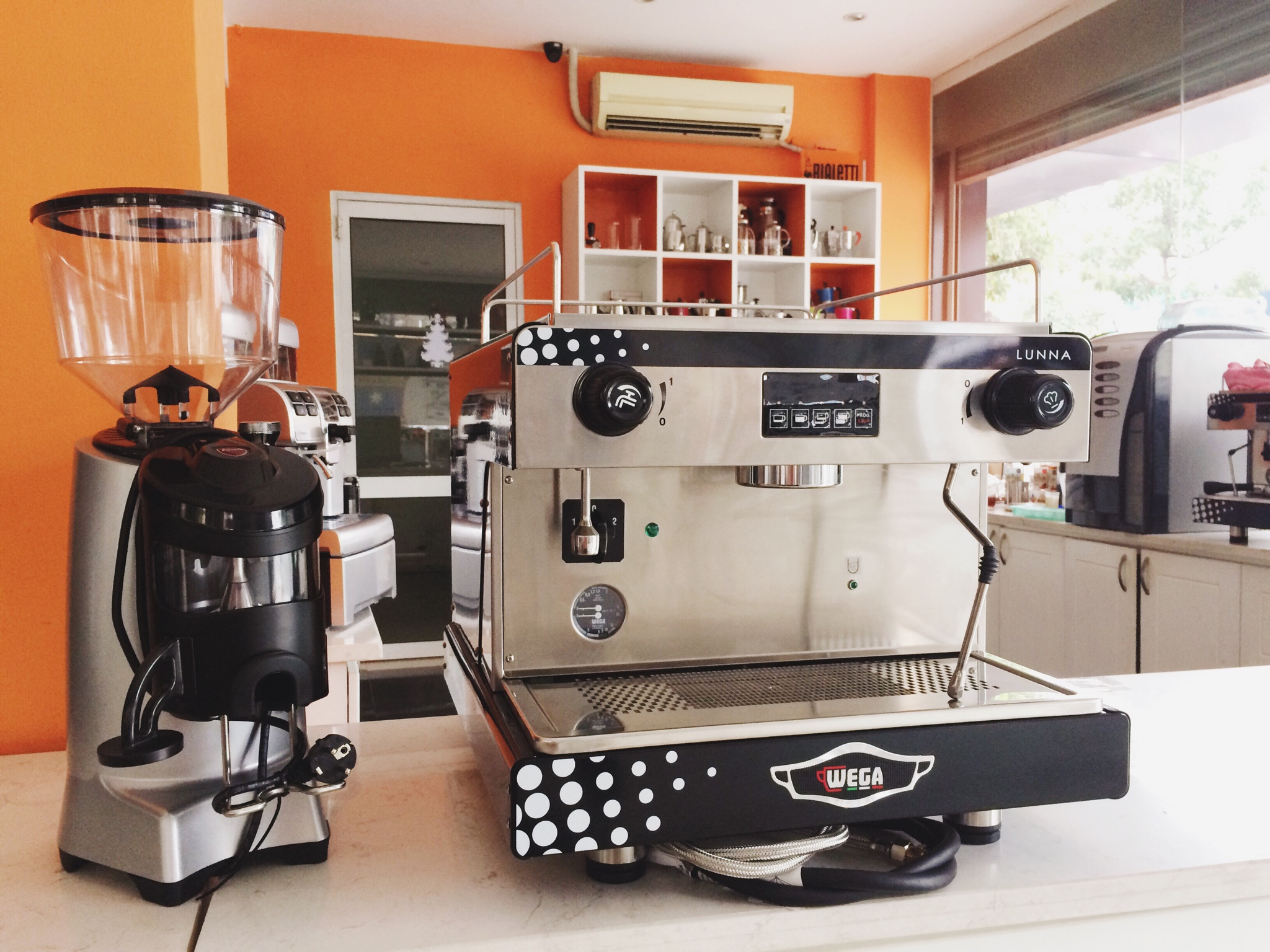 máy pha cà phê Wega Lunna