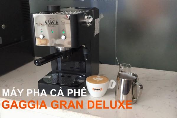 Máy pha cà phê mini Gaggia Gran Deluxe