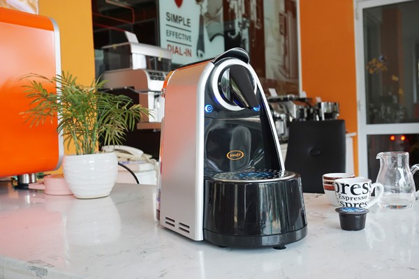 Máy pha cà phê viên nén Cino