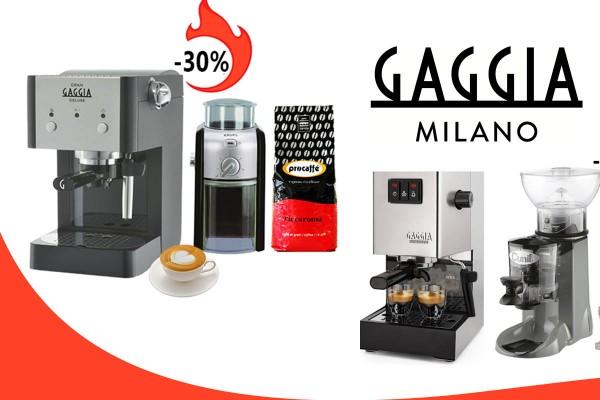 Máy pha cafe espresso giá rẻ | Khuyến mãi Gaggia, Lelit, Cunill, Krups