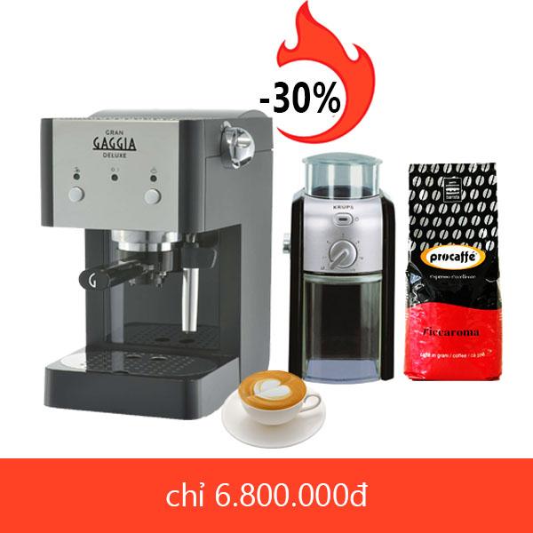 Máy pha cafe espresso giá rẻ
