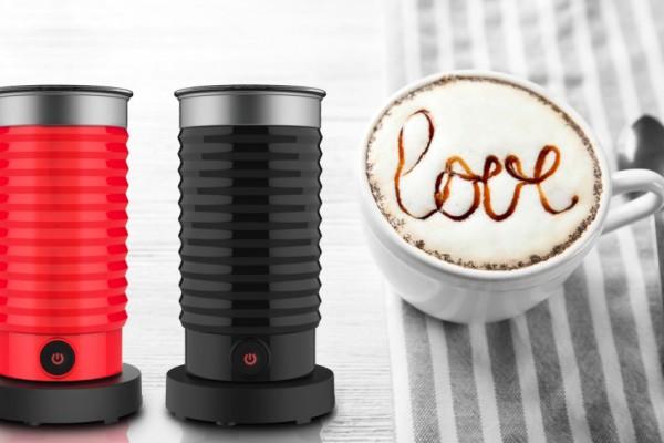 Máy tạo bọt sữa tự động Procaffe: Làm cafe cappuccino đơn giản tại nhà