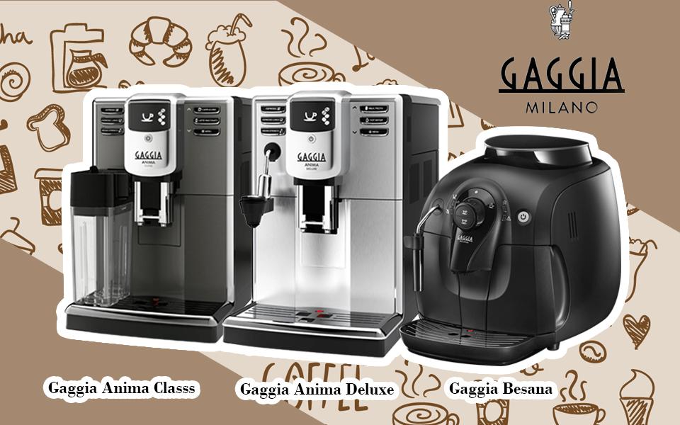 TOP 3 model máy pha cà phê hạt của Gaggia Italy từ 15 – 25 triệu đồng