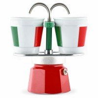 Bialetti Mini Express Italia 2 Ceramic Cups