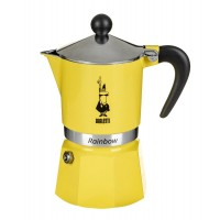 Bialetti Rainbow Yellow 3 Cup